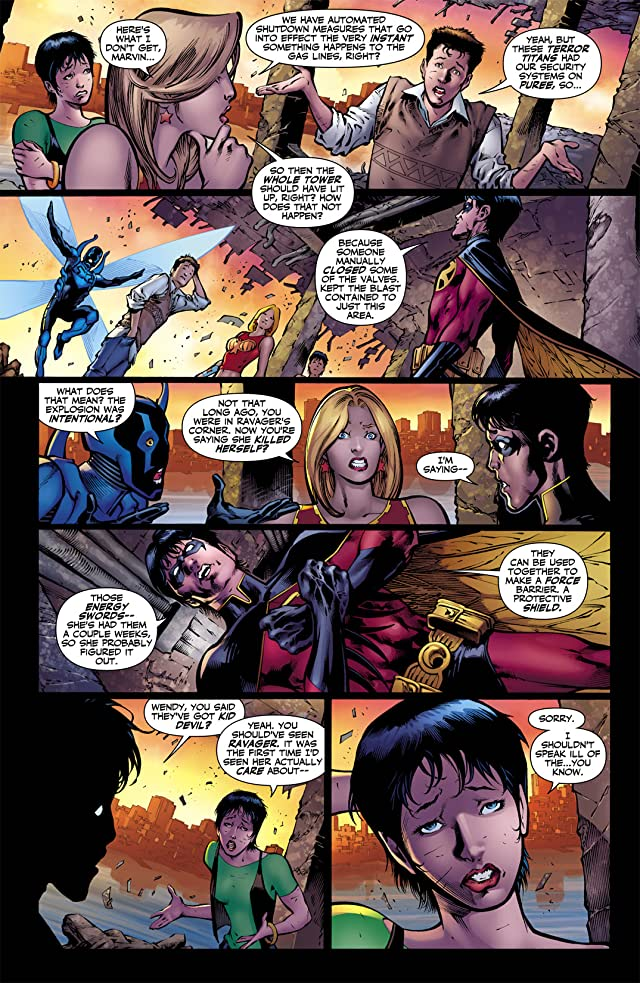 click for super-sized previews of Teen Titans (2003-2011) #59