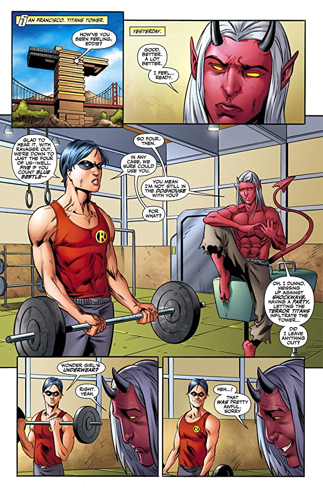 click for super-sized previews of Teen Titans (2003-2011) #61
