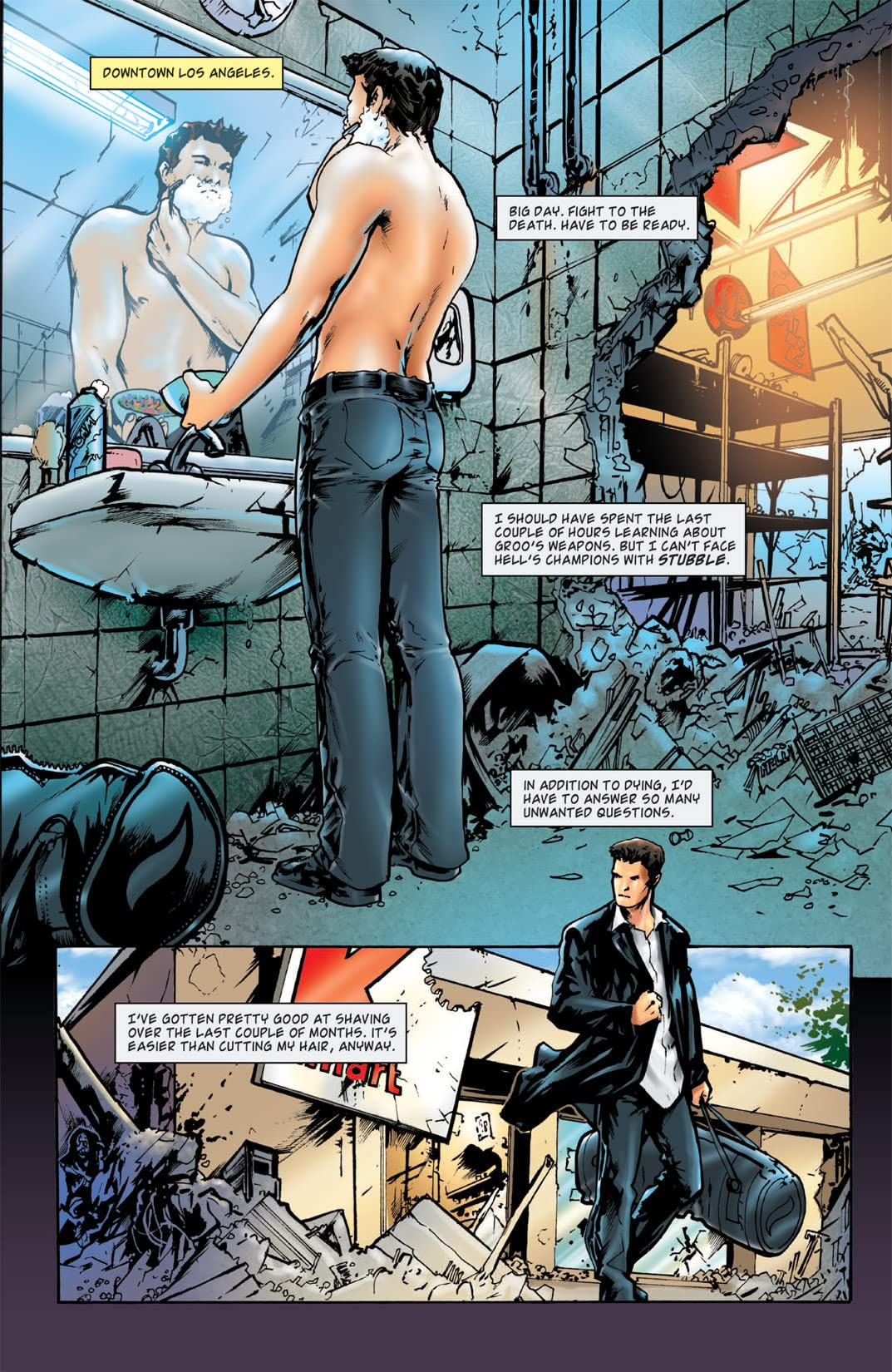 Angel: After the Fall #5