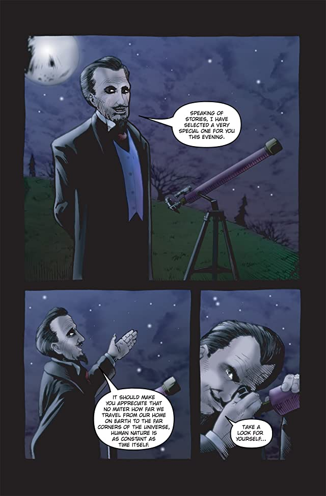 click for super-sized previews of Vincent Price Presents #21