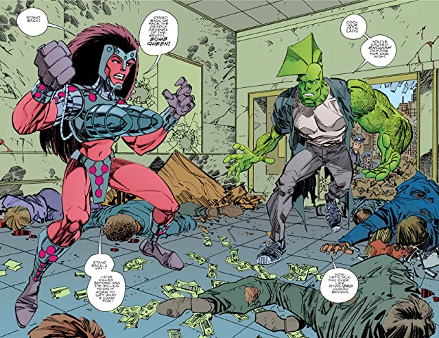 click for super-sized previews of Savage Dragon #134