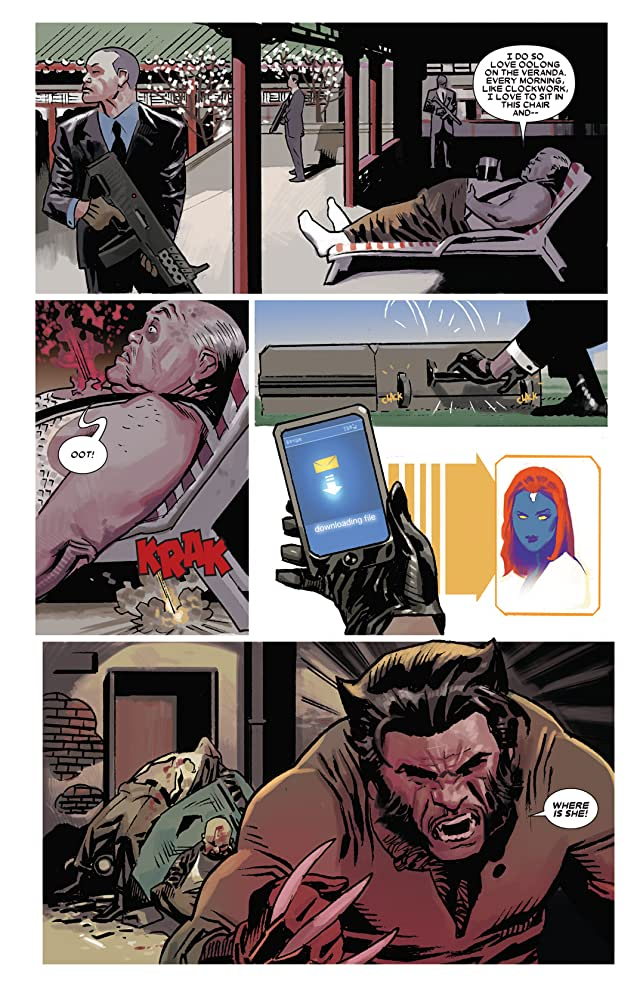 click for super-sized previews of Wolverine (2010-2012) #9