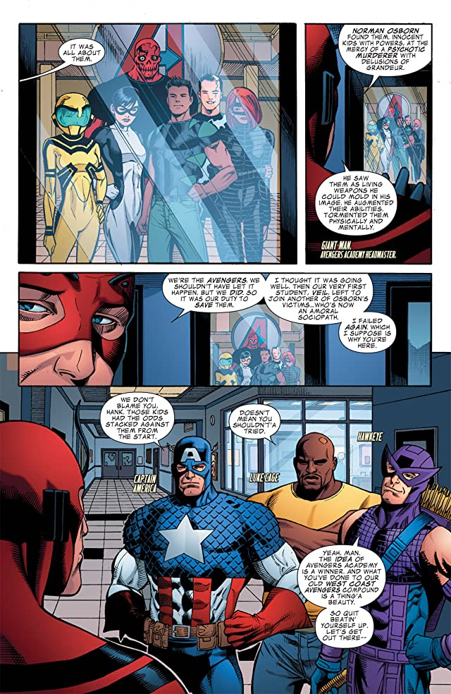 click for super-sized previews of Avengers Academy #21