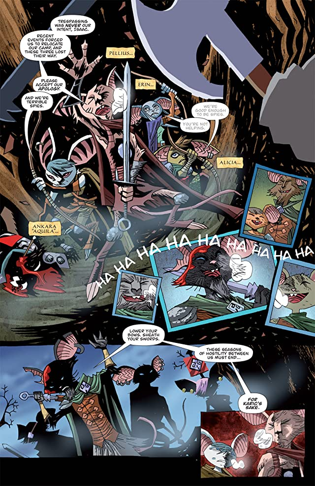 click for super-sized previews of The Mice Templar Vol. 3 #5