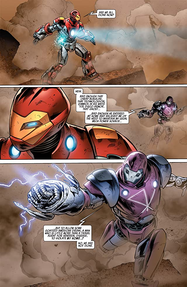 click for super-sized previews of Ultimate Comics Armor Wars #3