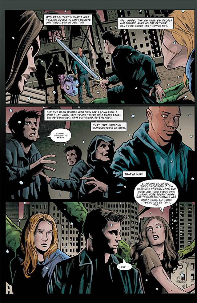 click for super-sized previews of Angel: After the Fall #11
