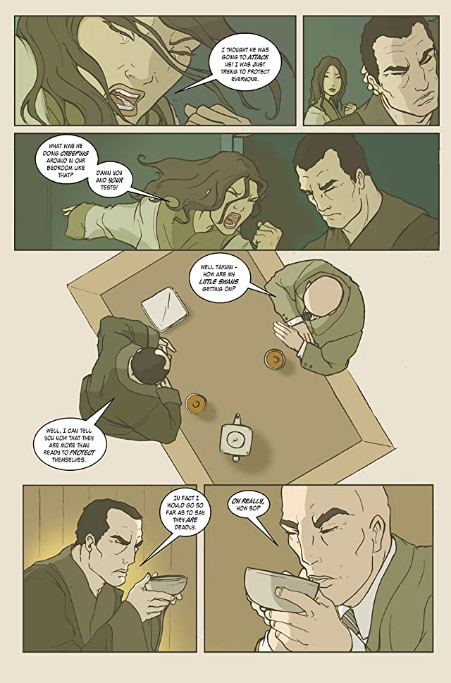 click for super-sized previews of Dark Mists #3 (of 4)