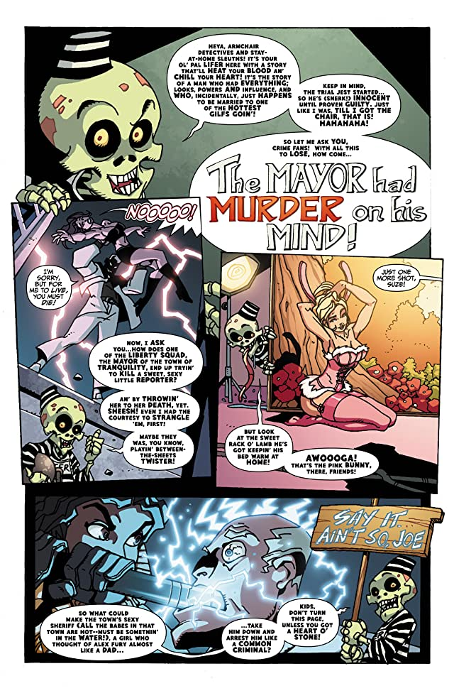 click for super-sized previews of Welcome To Tranquility: One Foot in the Grave #1