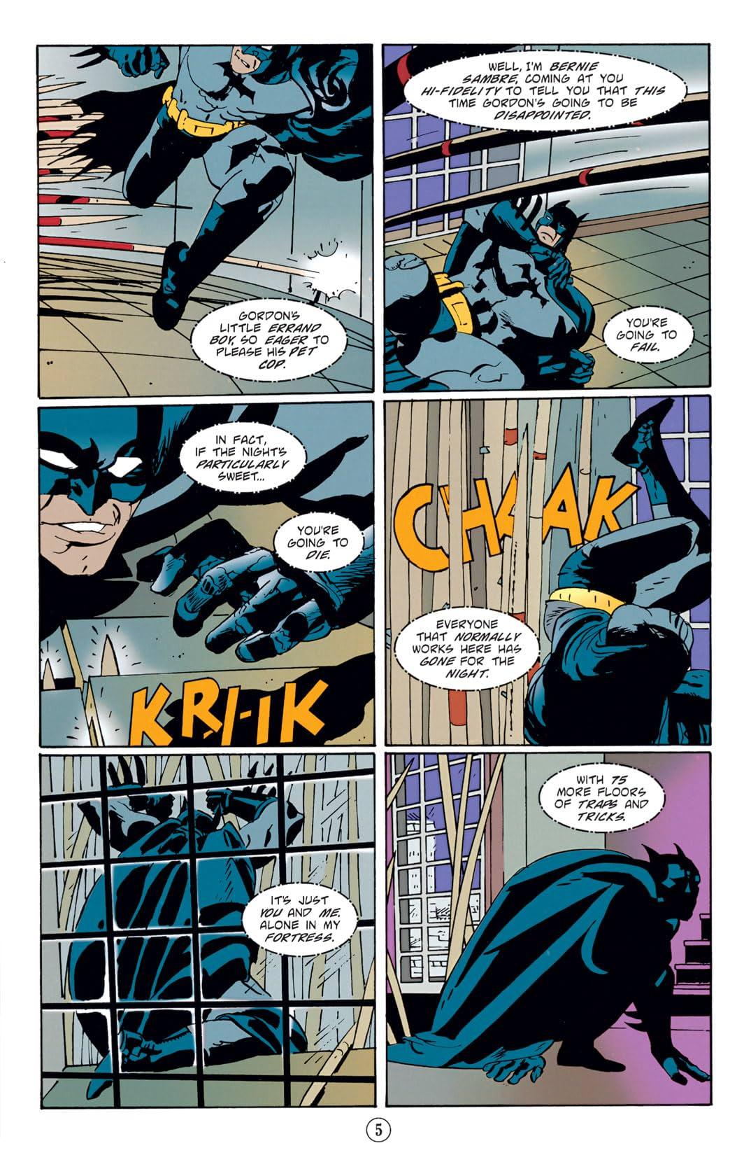 Batman: Legends of the Dark Knight #85