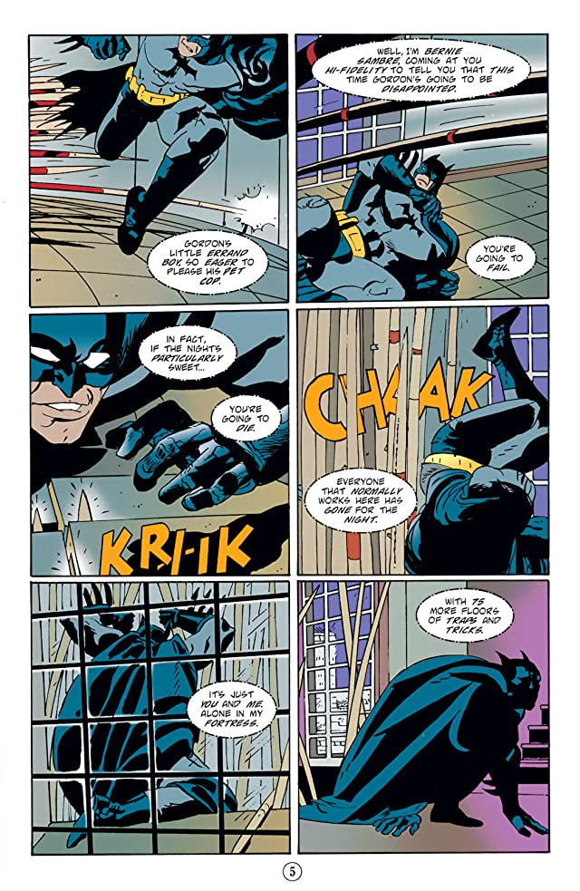 Batman: Legends of the Dark Knight #85