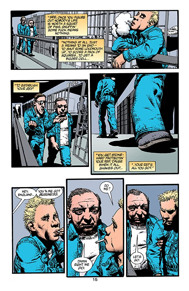 click for super-sized previews of Hellblazer #148