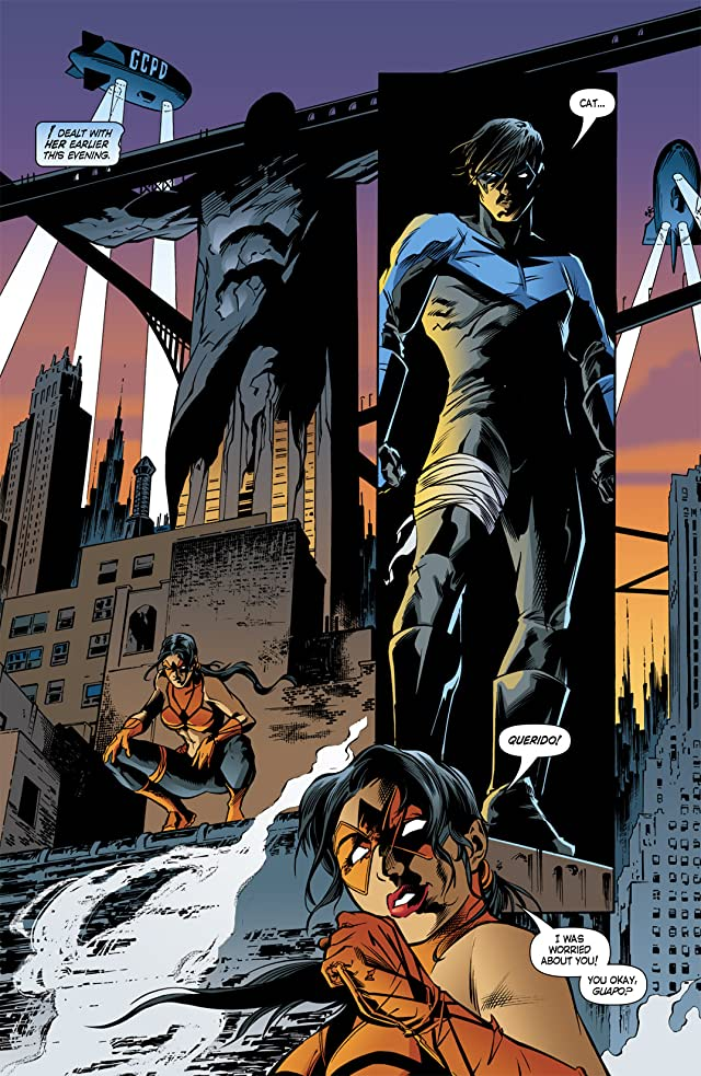 click for super-sized previews of Nightwing (1996-2009) #100