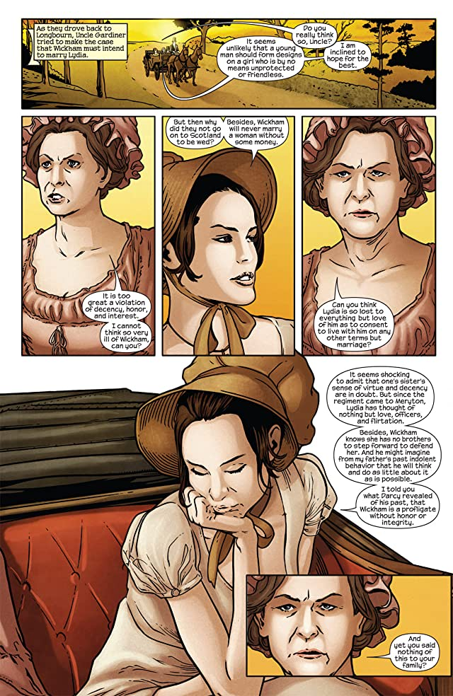 click for super-sized previews of Pride & Prejudice #5 (of 5)