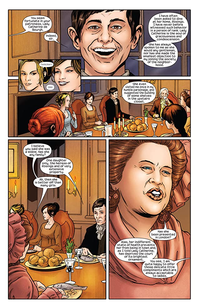 click for super-sized previews of Pride & Prejudice #2