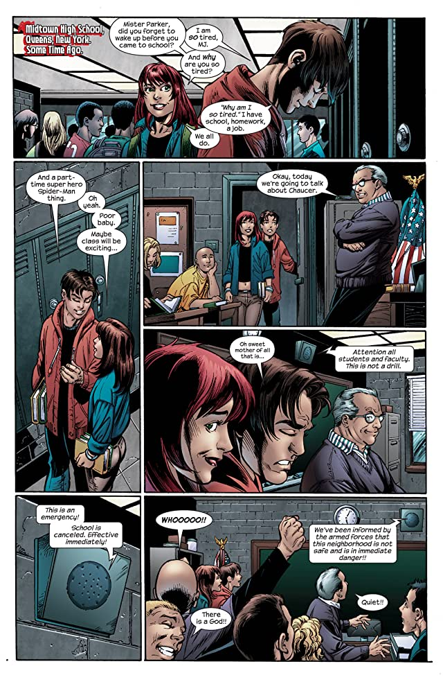 click for super-sized previews of Ultimatum: Spider-Man Requiem #2