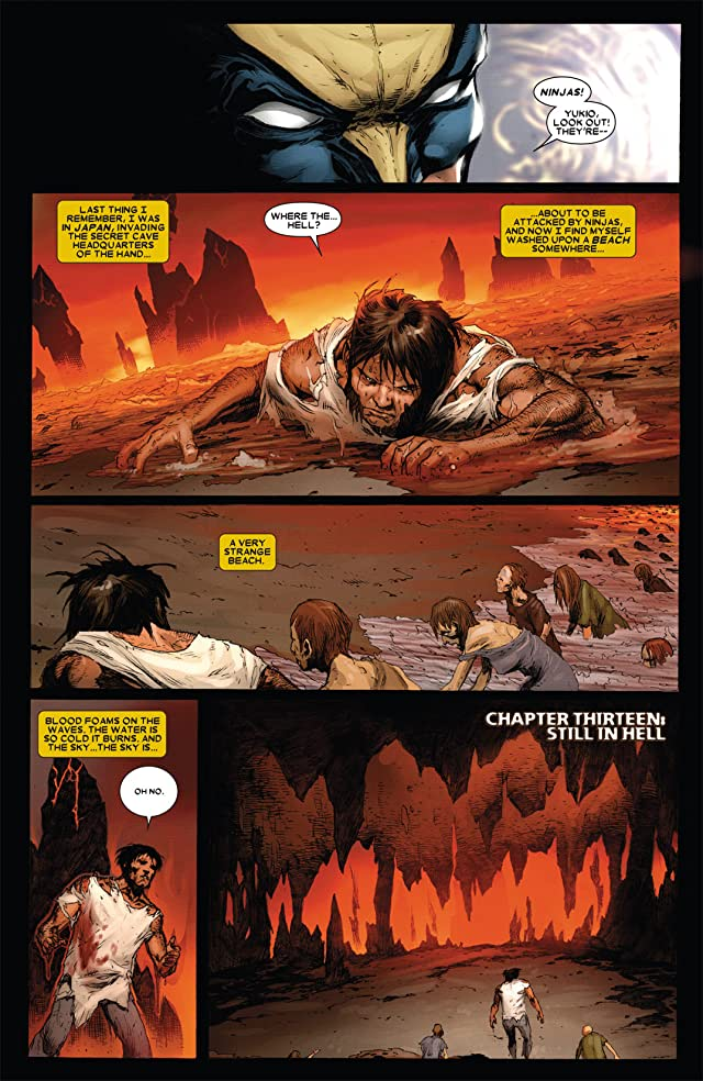 click for super-sized previews of Wolverine (2010-2012) #302