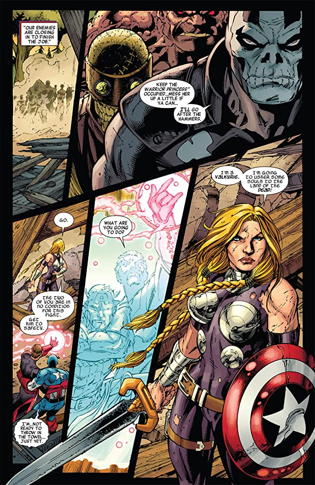 Fear Itself: The Fearless #10 (of 12)