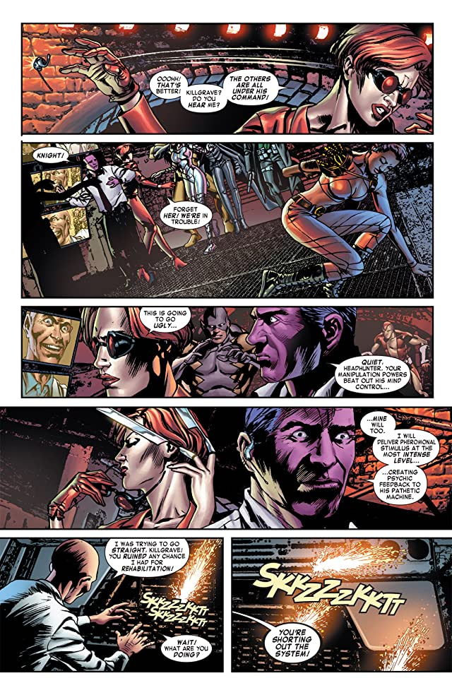 click for super-sized previews of Villains For Hire (2011-2012) #4 (of 4)