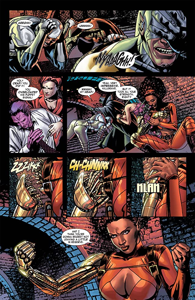 Villains For Hire (2011-2012) #4 (of 4)