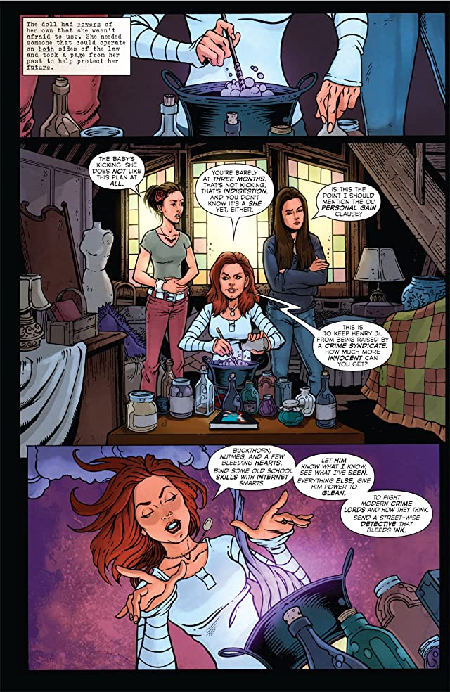 click for super-sized previews of Charmed #19