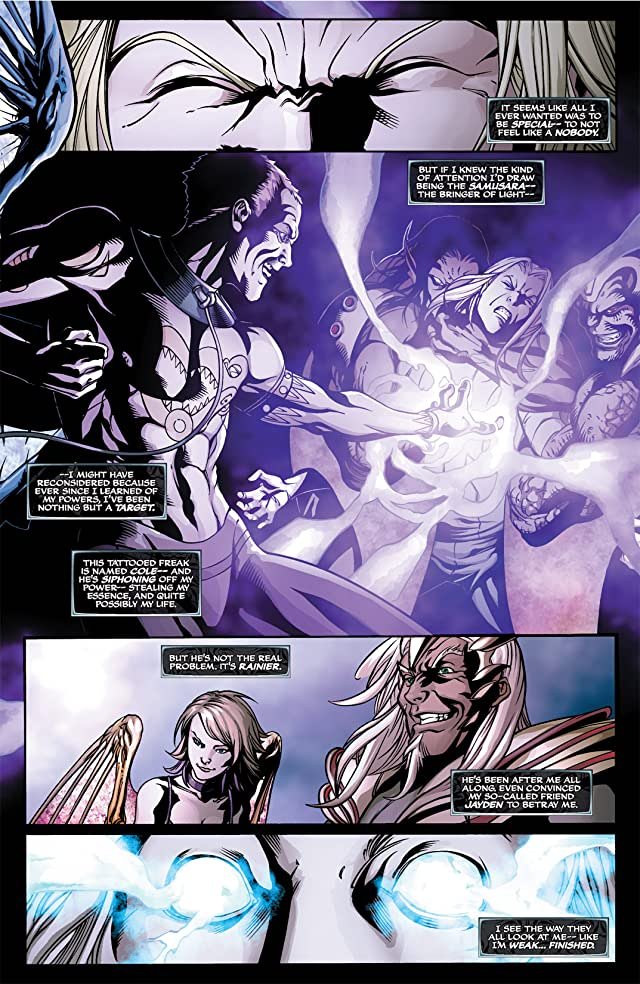 click for super-sized previews of Soulfire Vol. 2 #9