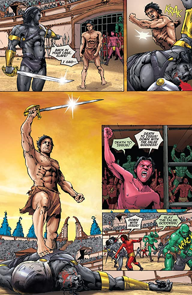 click for super-sized previews of Warlord of Mars #16