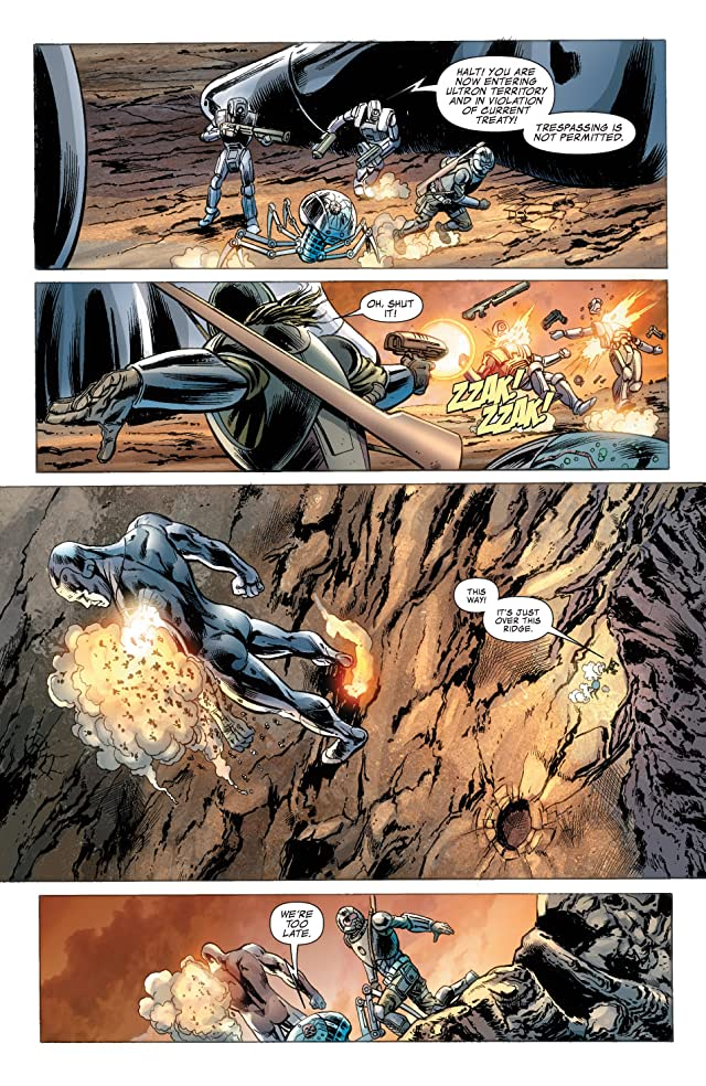 click for super-sized previews of Fantastic Four (1998-2012) #573