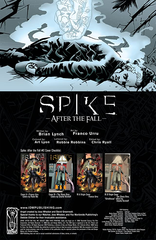 Spike: After the Fall #2 (of 4)