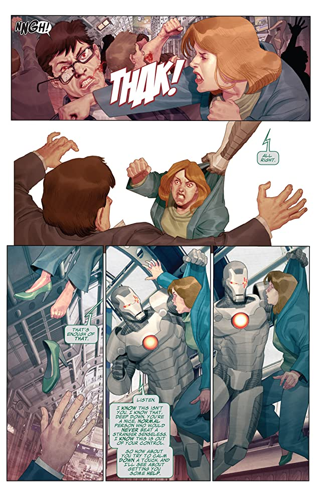 click for super-sized previews of Iron Man 2.0 #11