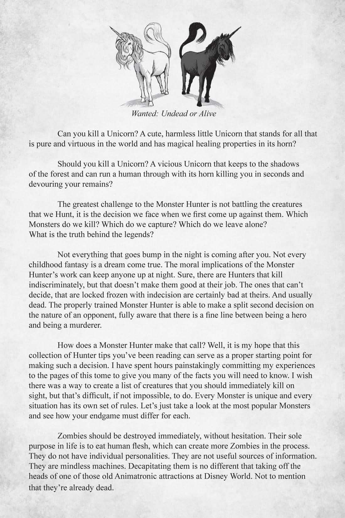 Monster Hunter's Survival Guide #5 (of 5)