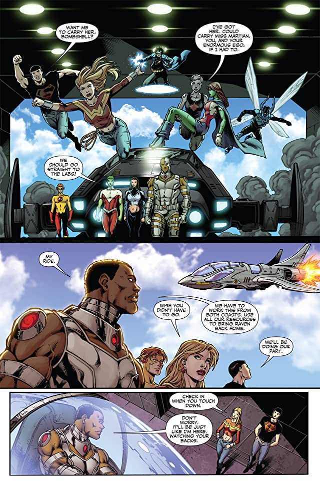 click for super-sized previews of Teen Titans (2003-2011) #83