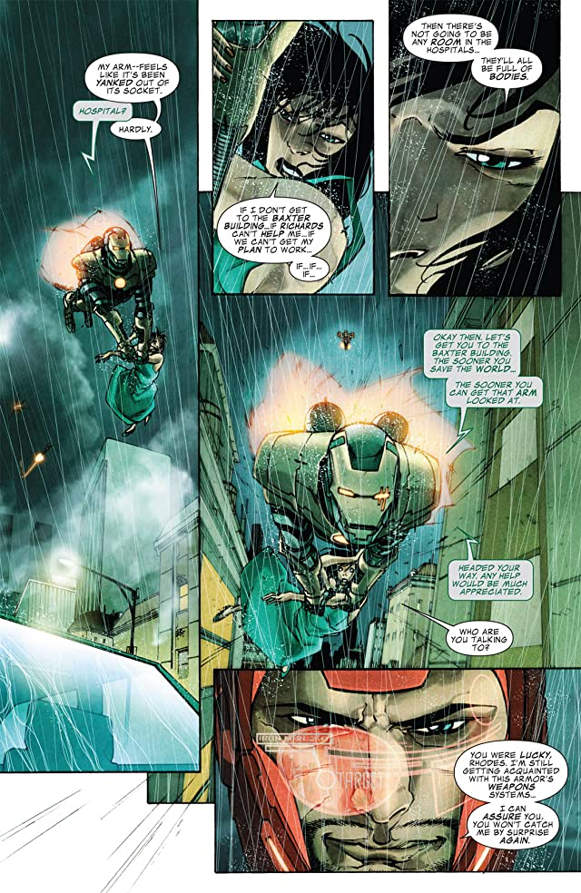 click for super-sized previews of Iron Man 2.0 #12