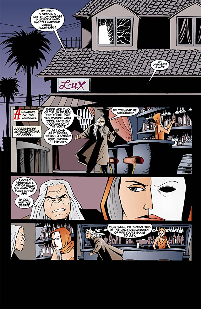 click for super-sized previews of Lucifer #6