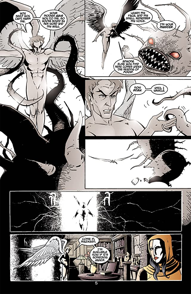 click for super-sized previews of Lucifer #10