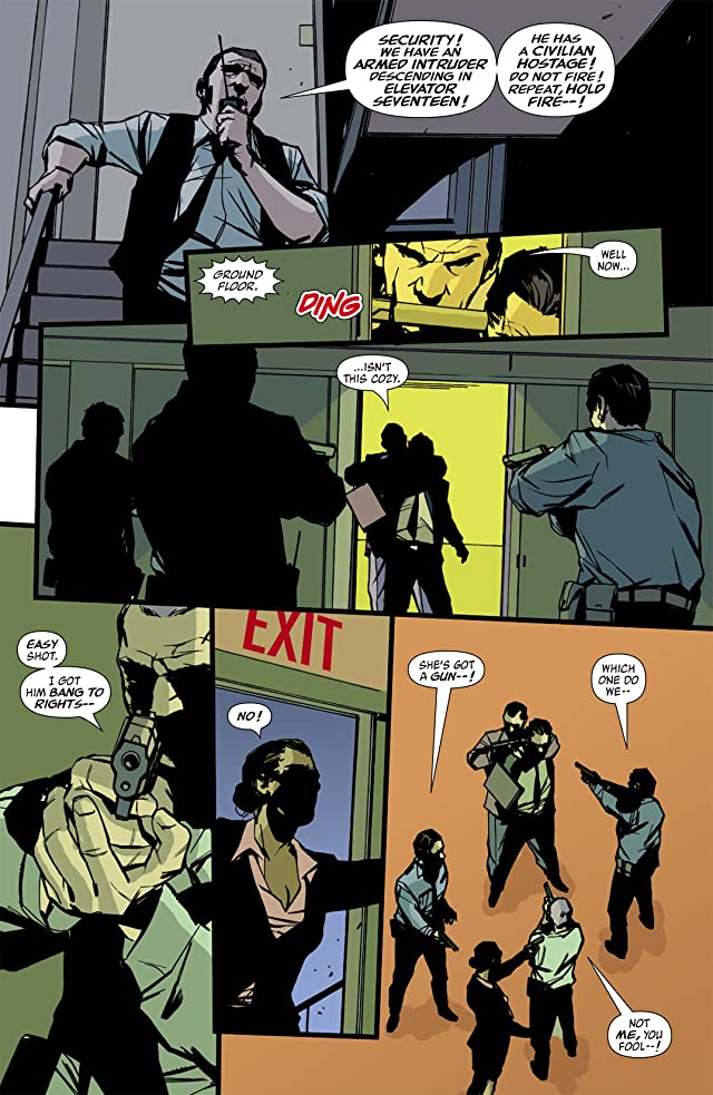 click for super-sized previews of The Losers #22