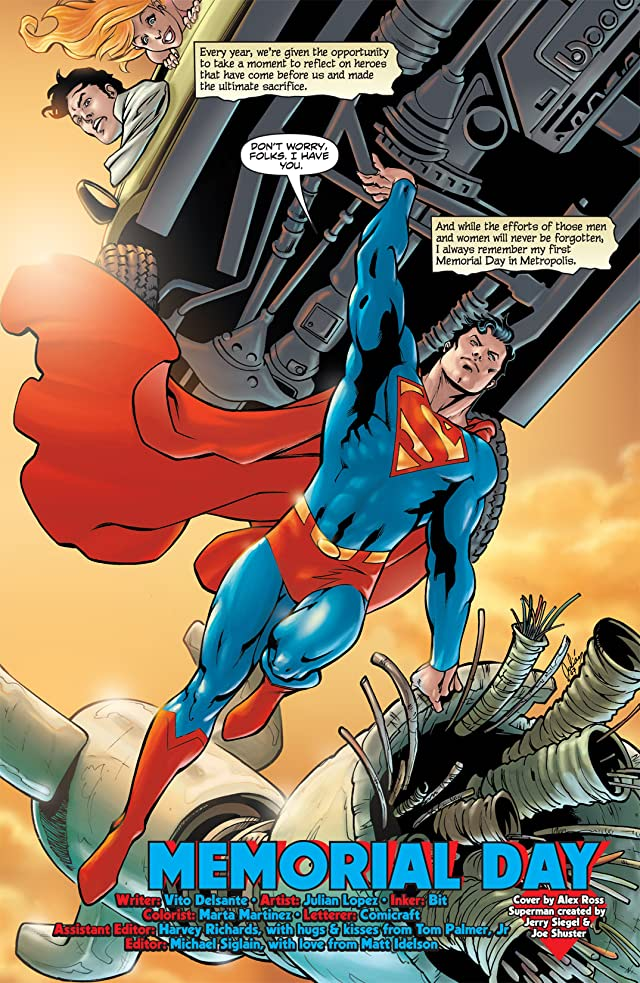 click for super-sized previews of Superman (1939-2011) #676