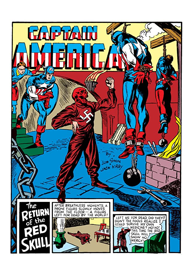 click for super-sized previews of Captain America Comics (1941-1950) #3