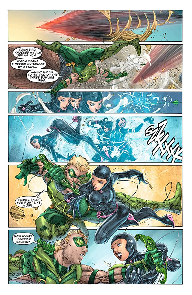 click for super-sized previews of Green Arrow (2011-) #7