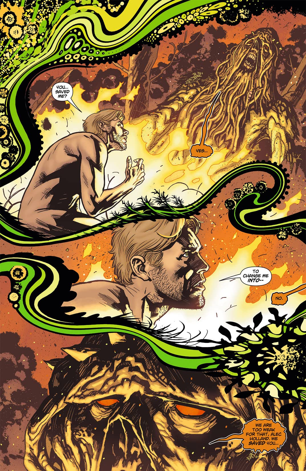 Swamp Thing (2011-2015) #7