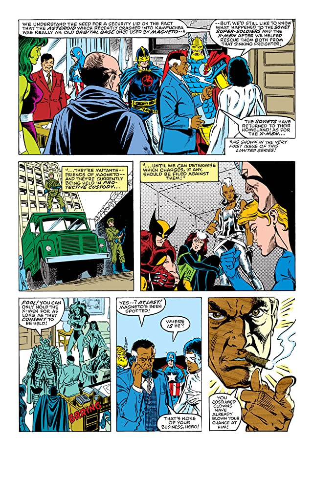 click for super-sized previews of X-Men vs. Avengers #4
