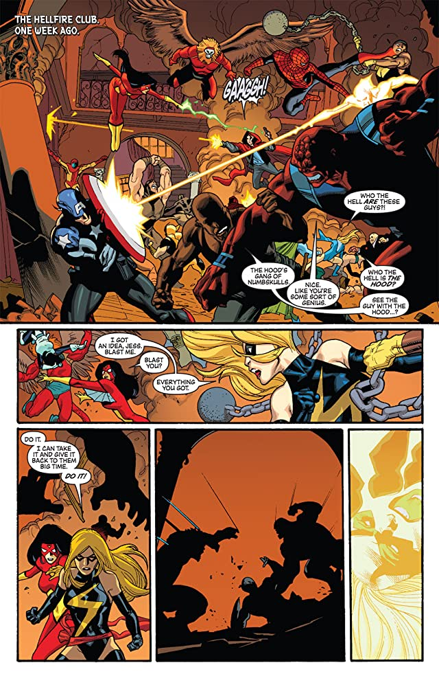 click for super-sized previews of New Avengers (2004-2010) #55