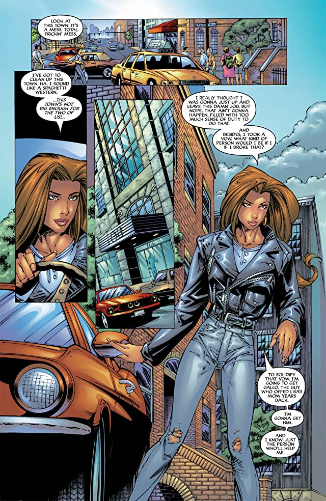 click for super-sized previews of Witchblade #39