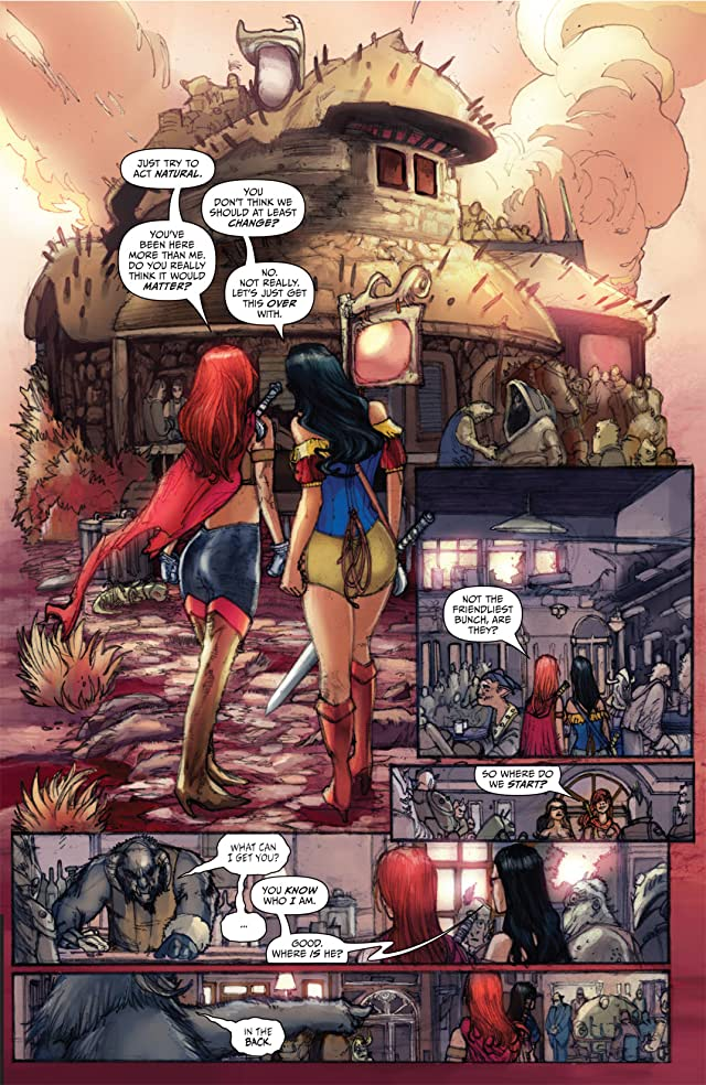 click for super-sized previews of Grimm Fairy Tales: The Dream Eater Saga - Inferno