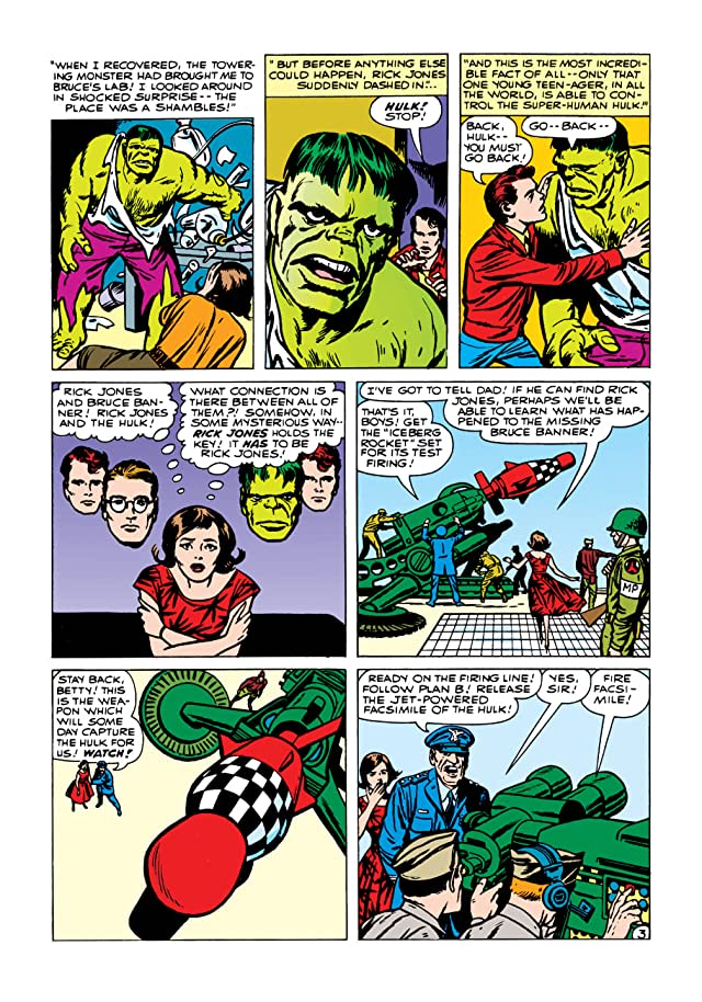 click for super-sized previews of Incredible Hulk (1962-1999) #4