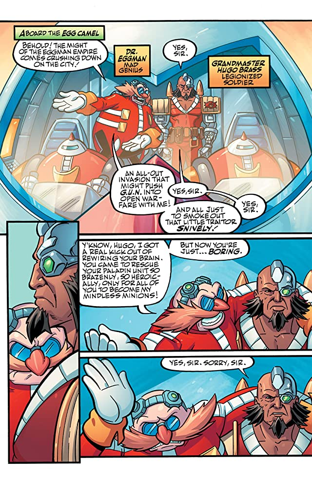 click for super-sized previews of Sonic Universe #38