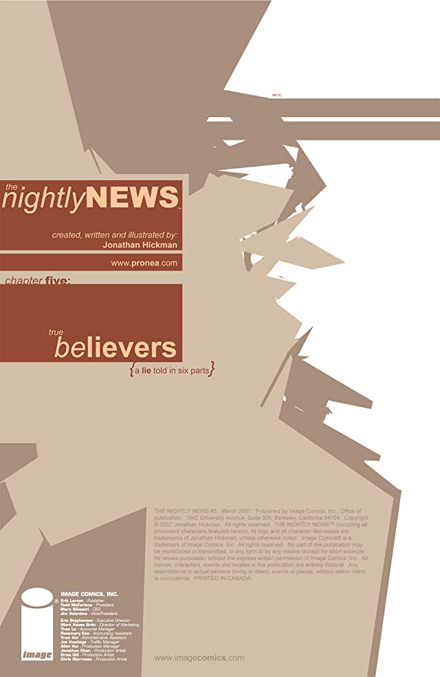click for super-sized previews of The Nightly News #5