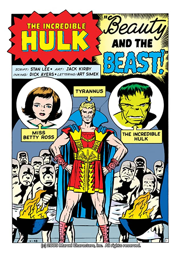 click for super-sized previews of Incredible Hulk (1962-1999) #5