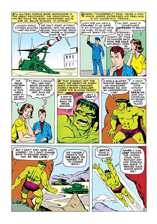 click for super-sized previews of Incredible Hulk (1962-1999) #6