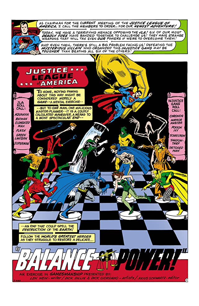 Justice League of America (1960-1987) #111
