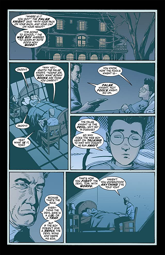 click for super-sized previews of The Unwritten #35